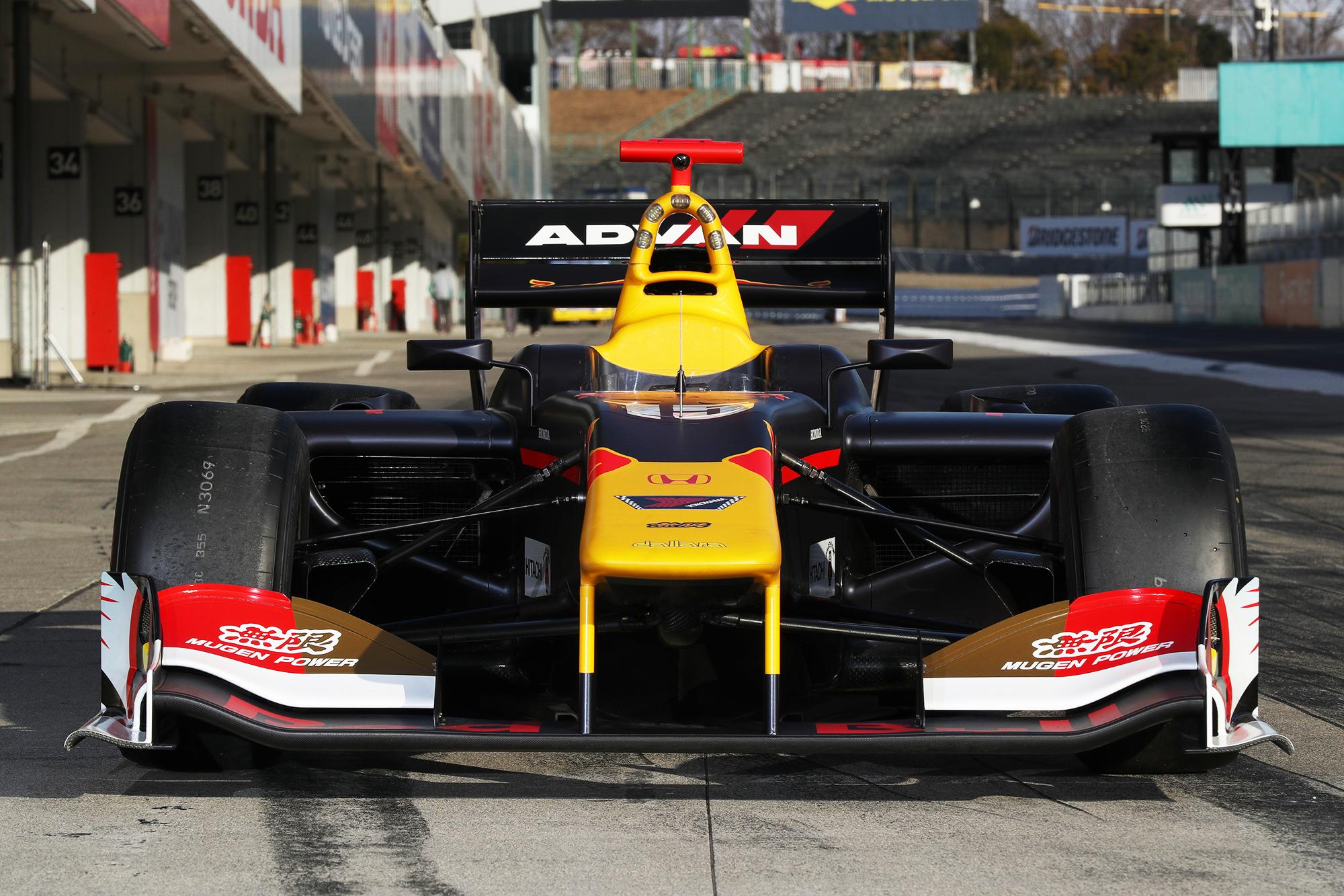 super formula 2018 無限 mugen